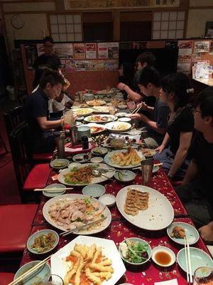 京都市右京区おすすめ中華料理店団体大人数で宴会パーティーカップル夫婦飲み放題コース料理