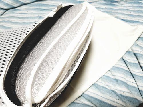 夏寝苦しい夜の暑さ対策におすすめ蒸れない涼しい硬めの沈まない枕丸洗い高さ調節できる寝具